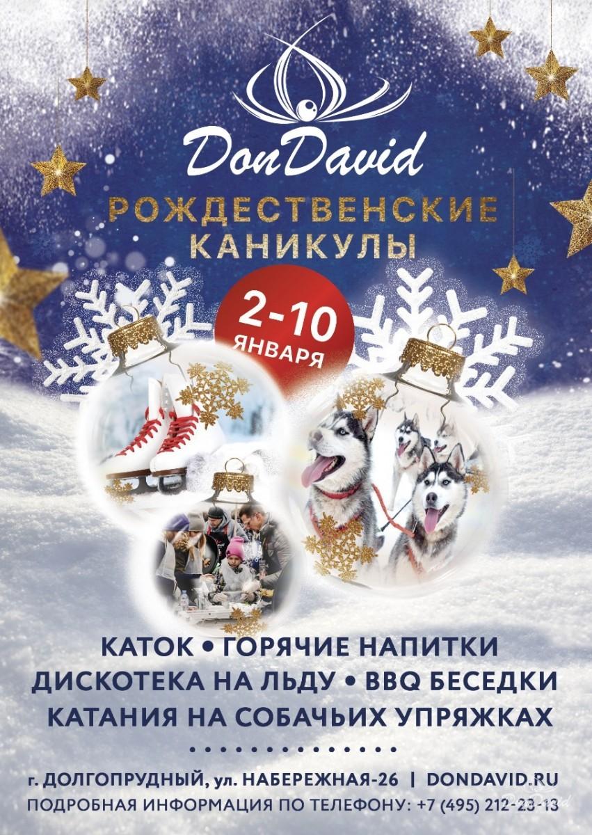 Зимние каникулы в ресторане-парке «Don David»